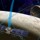 The Europa Mission, illustrated here with an orbital satellite, could be prepared to go by a late 2020s, though will it have a high-energy laser cavalcade in draw to land on a aspect to demeanour for life? (Image Credit: NASA/JPL-Caltech)