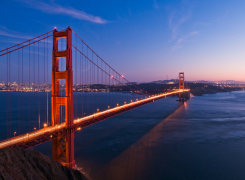 Golden Gate Bridge, San Francisco, Bay Area. Photo Credit: Shutterstock